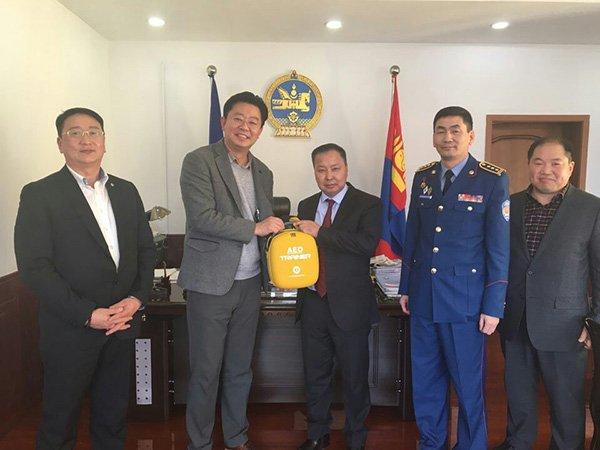 라디안, 몽골에 '자동심장충격기' 10억원 수출계약 체결