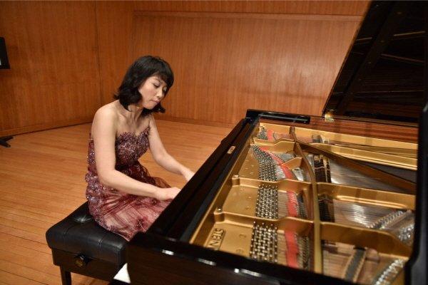 '윤유진 피아노 독주회' 리허설사진. 사진=Dongwook Shin 제공