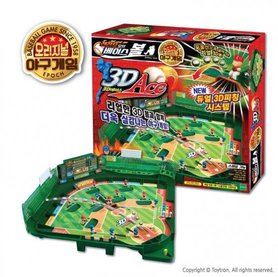 ㈜토이트론, 더 강력해진 '레전드 오브 베이스볼 3D Ace' 출시