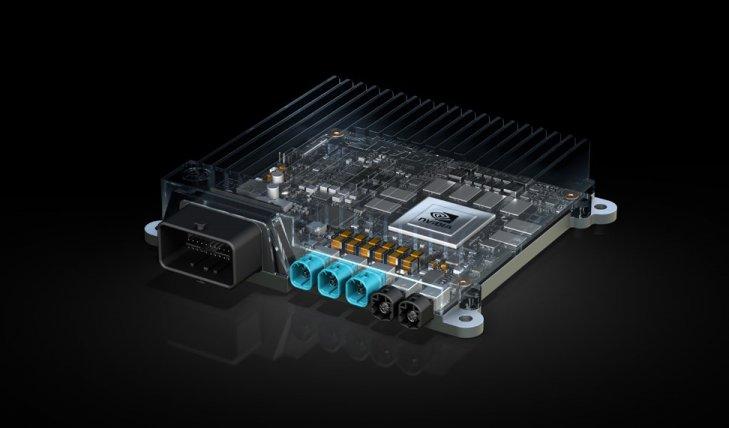 엔비디아와 보쉬가 함께 개발 예정인 인공지능 자율주행 시스템에 활용되는 '엔비디아 드라이브 PX'