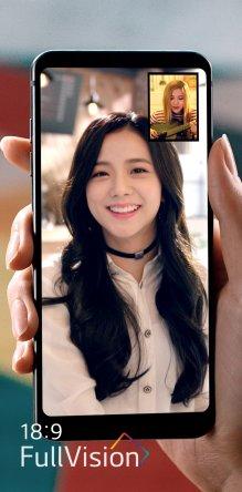 걸그룹 블랙핑크의 뮤직비디오 장면. 사진=LG전자 제공