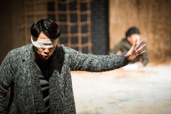 '헤카베' 공연사진. 사진=극단/소극장 산울림 제공