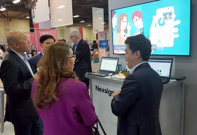삼성SDS가 IBM과 손잡고 글로벌 솔루션 시장 공략에 박차를 가하고 있다.