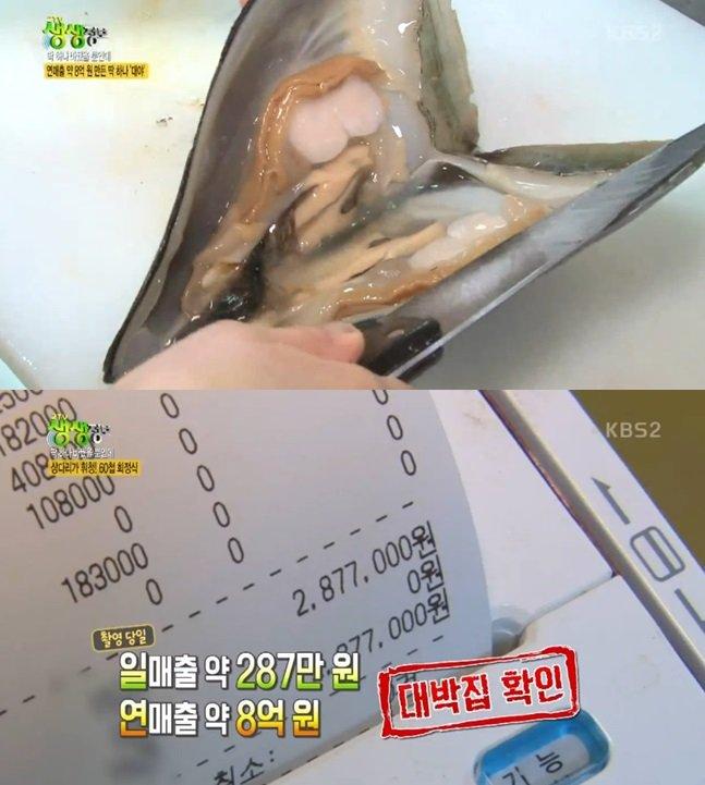 """60첩 회정식, 연매출 8억의 신화 """"작은 수조가 성공비결?"""""""