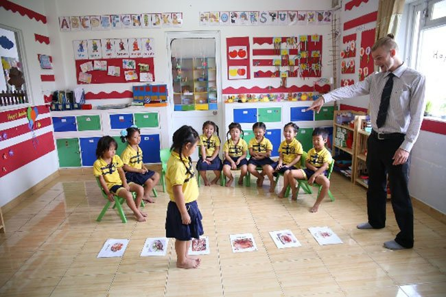 해외 사립 영어 유치원 풍경