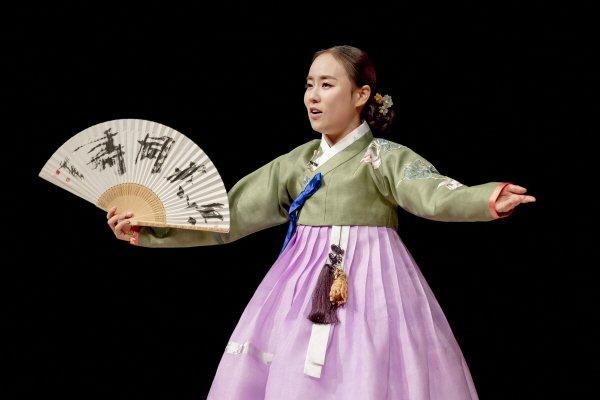 '민은경의 심청가_강산제' 공연사진. 사진=국립극장 제공