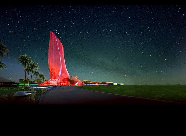 아부다비 알샬라 호텔 계획안 (경암건축, 윤창기)