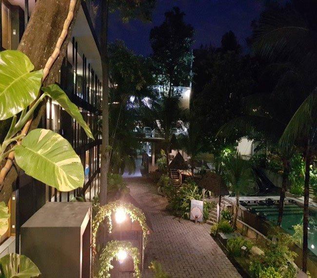 싱가포르 샌토사 섬의 실로소 비치호텔 (사진 윤창기)