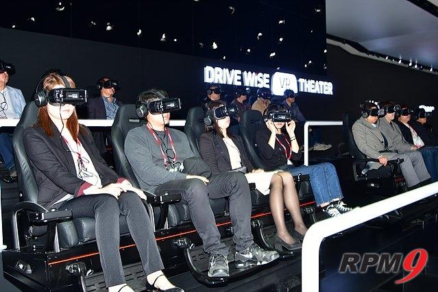 2017 서울모터쇼, VR 체험관 '인기 폭발'