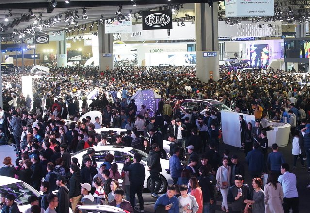 2017 서울모터쇼, 61만 명 관람객 모으고 폐막