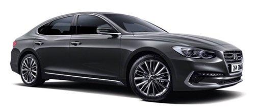 现代汽车Grandeur IG / 虽然目前现代汽车搭载的半导体大部分为外国产,其计划在2020年左右搭载印有现代Autron标志的半导体(图片来源:韩国《电子新闻》)