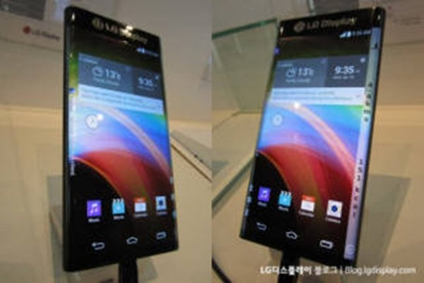 LG Display's dual-edge display that was introduced at CES 2015 (Picture = LG Display's blog)