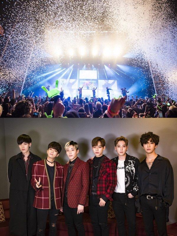 인기그룹 B.A.P가 지난 5일부터 16일까지 진행된 미국투어 콘서트를 성공적으로 마무리 했다. (사진=TS엔터테인먼트 제공)