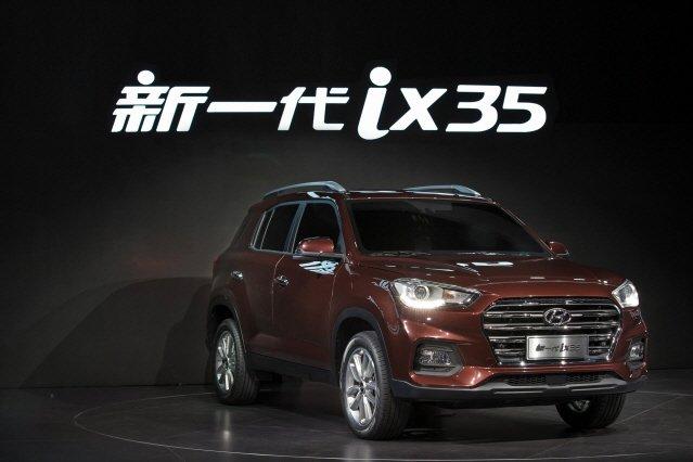 [2017 상하이모터쇼] 현대차, 중국형 ix35와 쏘나타 공개