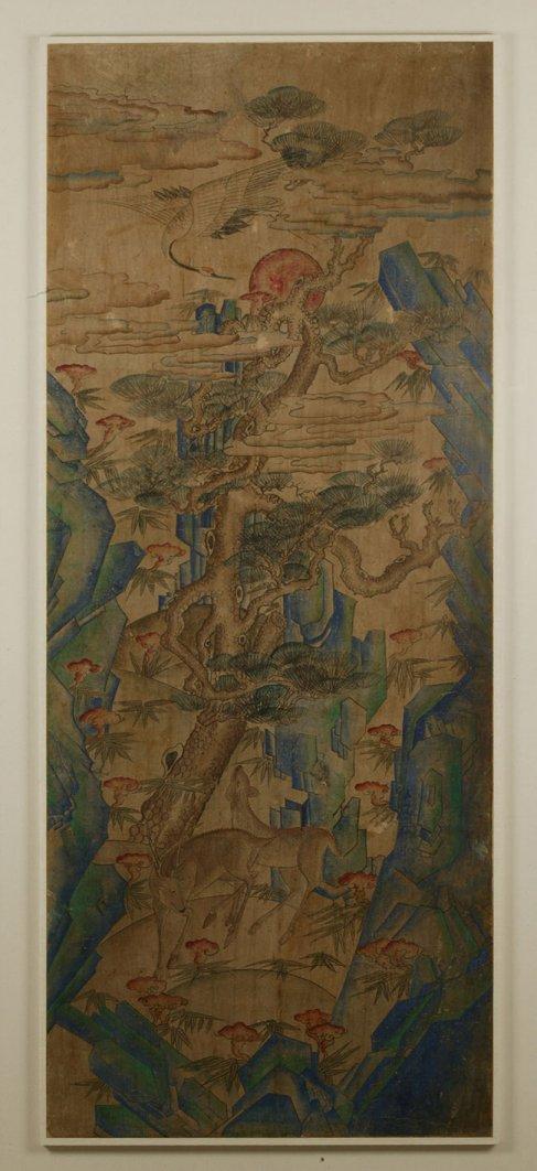 조선시대 십장생도(국립민속박물관 소장)