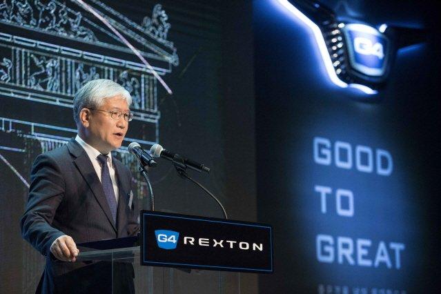 """쌍용차 """"G4 렉스턴 年 3만대 팔겠다""""…경쟁차는 기아 모하비‧포드 익스플로러"""