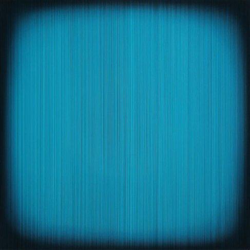 김현식, Who likes Aqua, Epoxy resin. Acrylic color, 100x100cm 2017