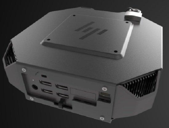 다양한 포트를 지원해 확장성이 높은 HP Z2 미니