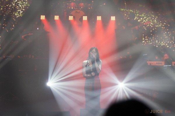 '알리자 콘서트' 공연사진. 사진=JUICE Entertainment 제공