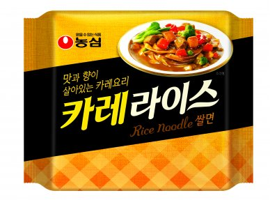 농심은 최근 진하고 푸짐한 카레와 건강한 쌀면, 풍성한 건더기가 특징인 '카레라이스 쌀면(편의점 기준 2500원)'을 출시했다고 밝혔다. 사진=농심 제공