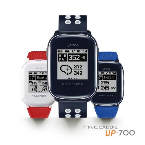폼과 스코어 함께 잡는 GPS 골프거리 측정기 '파인캐디 UP700'
