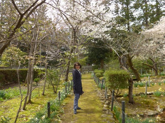 야히코신사 가는 산책로