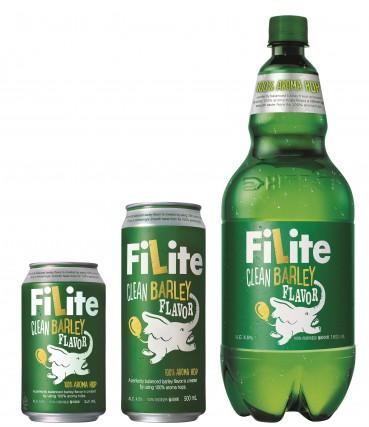 하이트진로가 지난 4월말 국내 최초로 선보인 신개념 발포주 '필라이트(Filite)'가 20일 만에 완판되며 인기를 실감했다. 사진=하이트진로 제공