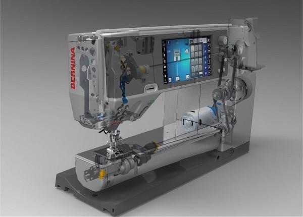 솔리드 엣지를 설계에 적용한 자수 기계 전문 기업 Bernina