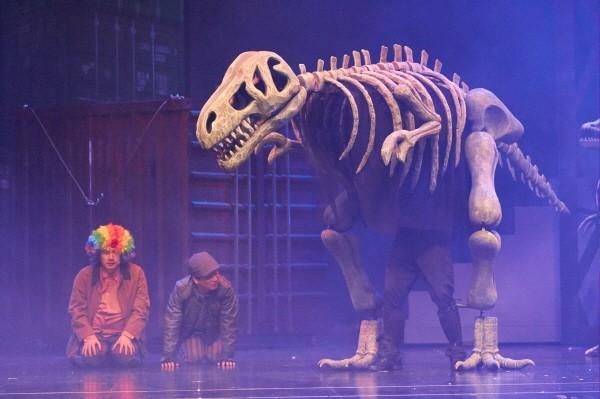 '공룡이 살아있다' 공연사진. 사진=드봄 제공