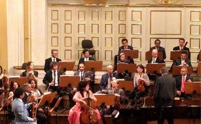첼리스트 송희송 협연, Kairo  Symphony  Orchestra 유럽 순회공연 Saint-Sains  Cello  Concerto 열려