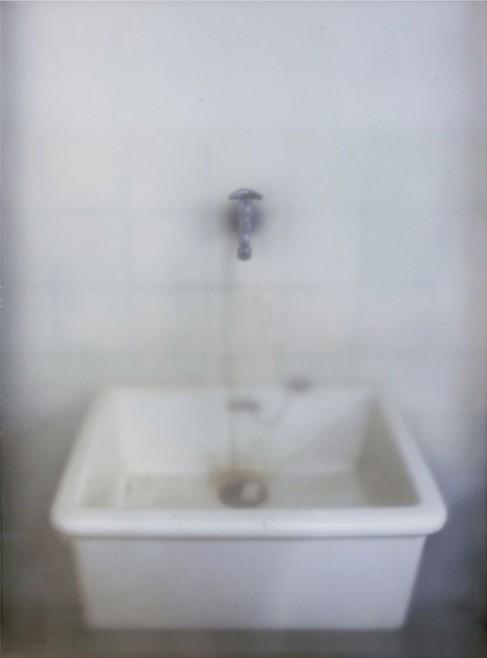 황선태,-개수대,100x75cm,-유리,잉크젯프린트,샌딩,-2008