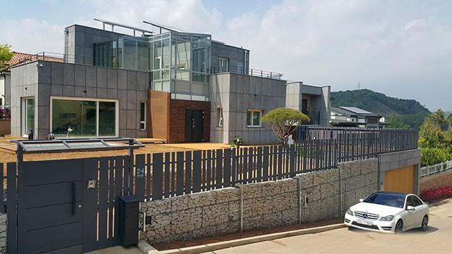 용인구 처인구에 위치한 전원주택 RC조 (설계 경암건축 윤창기)