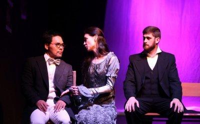 [ET-ENT 연극] '개를 데리고 다니는 여인' 안톤 체호프의 시대로의 여행, 3인칭의 대화법이 독특한 연극