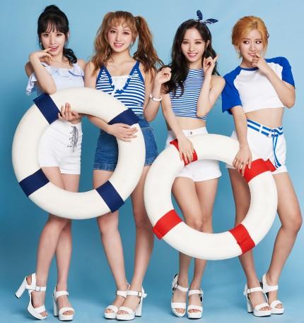 MP그룹의 자회사인 한강인터트레이드가 최근 메이크업 브랜드 '키스미'의 새 모델로 걸그룹 우주소녀를 발탁했다. 사진=한강인터트레이드 제공
