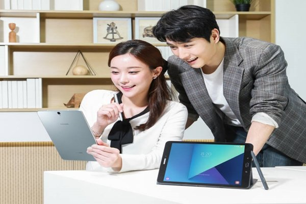 Samsung Electronics' Galaxy Tab S3 that was released in South Korea last month (Picture = Samsung Electronics)