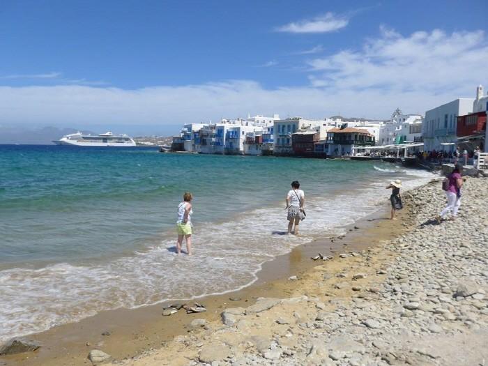 미코노스 해변