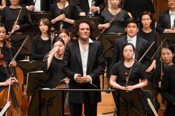 '로미오와 줄리엣' 공연사진. 사진=서울시립교향악단 제공