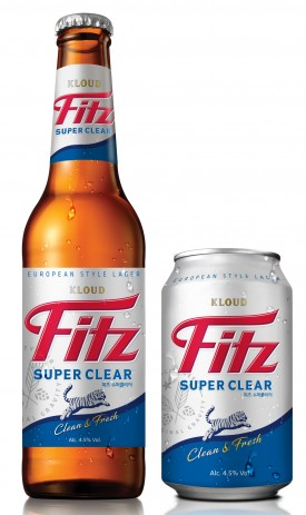 롯데주류가 지난 6월 1일 선보인 '피츠 수퍼클리어(Fitz Super Clear)'가 특유의 청량감과 깔끔한 끝 맛을 인정받으며 인기를 끌고 있다. 사진=롯데주류 제공