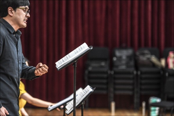 세종 카메라타 오페라 리딩공연 '비행사' 리허설사진. 사진=세종문화회관 제공