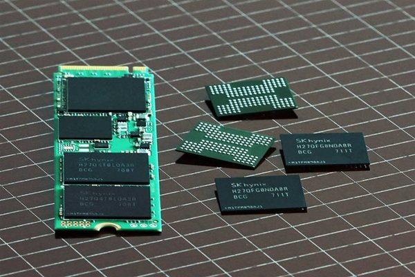 SK Hynix's 72-layer 3D NAND chip and 1TB SSD applied with 72-layer 3D NAND chip