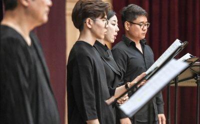 [ET-ENT 오페라] 세종 카메라타 오페라 리딩(2) '텃밭킬러' 많은 대사도 뛰어난 연기력으로 소화한 성악가들