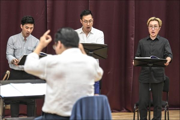 세종 카메라타 오페라 리딩공연 '마녀' 리허설사진. 사진=세종문화회관 제공