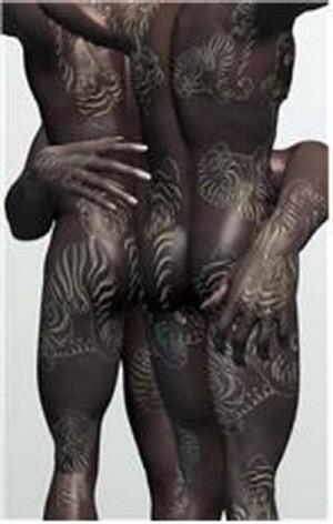 [배미애의 아틀리에 풍경] 문신회화 김준의 '깨지기 쉬운' 욕망의 살덩어리