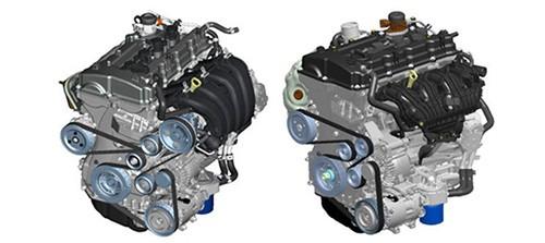 theda二代发动机. GDI(左边), 涡轮(右)