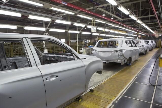 [르포] 'Q200' 생산 준비 중인 쌍용차 평택 공장을 가다