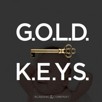 아가방앤컴퍼니는 2017 하반기 유아동 트렌드로 '골든 키즈(GOLD KEYS)'를 선정했다. 사진=아가방앤컴퍼니 제공