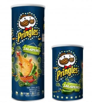 감자칩 브랜드 '프링글스'는 멕시코를 대표하는 매운 고추 할라피뇨 맛을 그대로 살려 역대 프링글스 제품 중 가장 매콤한 맛을 즐길 수 있는 신제품 '프링글스 할라피뇨'를 출시했다. 사진=프링글스 제공