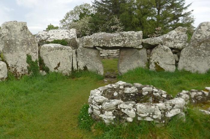 Creevykeel burial mound