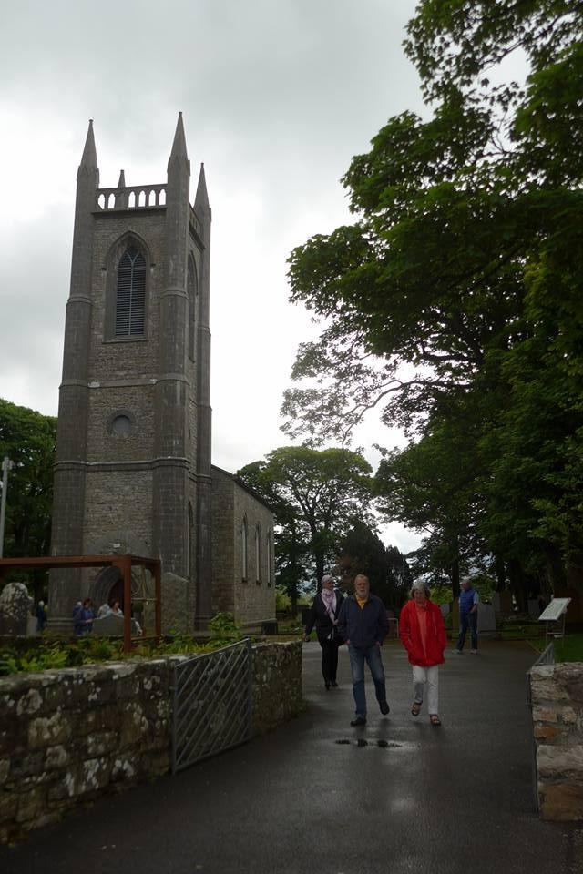 예이츠묘지가 있는 교회