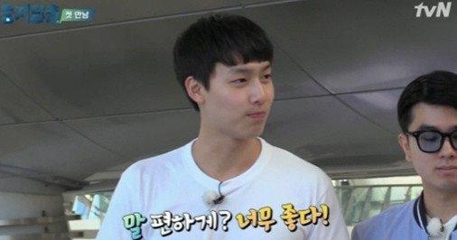 기동민 아들 기대명, 훤칠한 키+몸매+훈훈한 외모 '이목 집중'